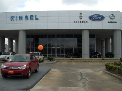 Car Dealerships In Arthur Tx by Kinsel Ford Lincoln Beaumont Tx 77706 Car Dealership