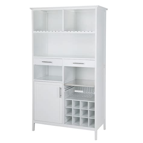 alinea fr cuisine meuble blanc de rangement pour cuisine h180cm bloom