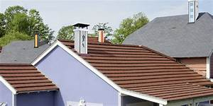 Toiture Metallique Pour Maison : bien choisir les tuiles pour sa toiture de maison ~ Premium-room.com Idées de Décoration