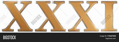 Roman Numeral Xxxi