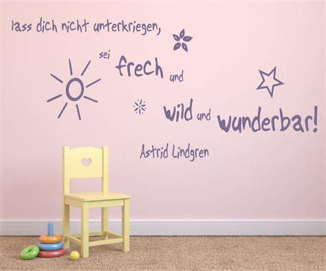 Wandtattoo Kinderzimmer Sprüche by Wandtattoo F 252 Rs Kinderzimmer Zitate Astrid Lindgren