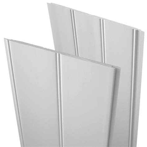 Wainscoting Panels Lowes by Shop Evertrue 8 Ft Paint Grade Pvc Bead Wainscot At