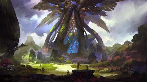scenic polearm pixiv fantasia skies original characters