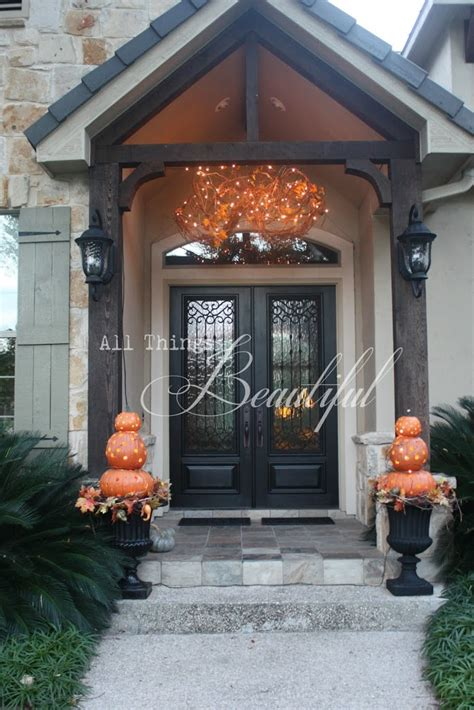 14 Fall And Halloween Porch Decor Ideas  Embellishmints. Aarons Living Room Furniture. Dining Room Lamps. Accent Wall Decor. How To Keep Cats Out Of A Room. Room Decor Colors. Room For Rent Austin. Decorating Ideas For Church Events. Decorative Storage Boxes Walmart
