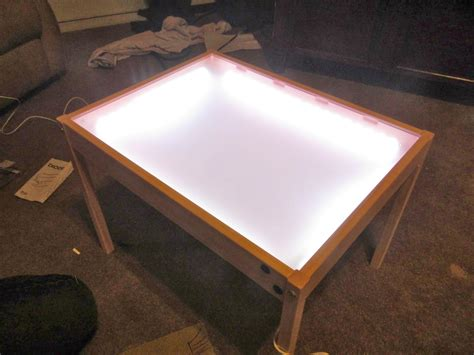 3 light table l hobby mommy creations diy light table ikea hack