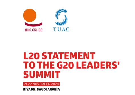 G20 leaders must use this moment to lay the foundations ...