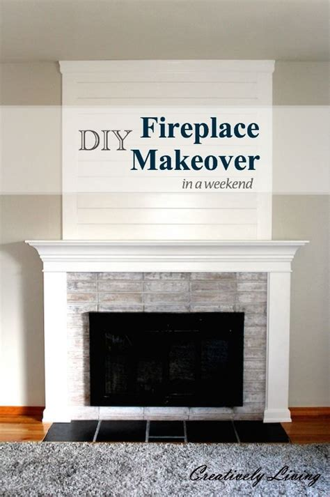 Hometalk   DIY Fireplace Makeover .in One Weekend, Under
