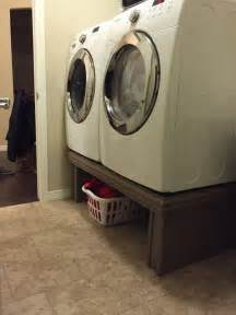 washer and dryer pedestal best 25 washer dryer closet ideas on laundry