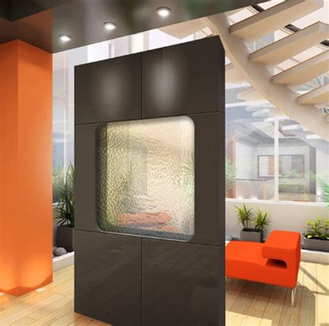 studio wall divider privacy glass room divider interior design ideas
