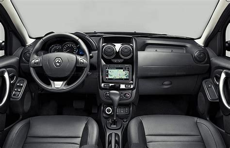 duster renault interior 2016 renault duster facelift amt launched at 8 46 lakhs specs