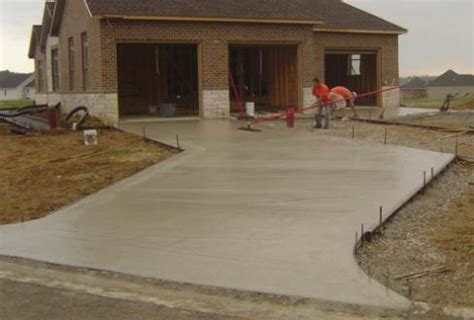 concrete driveway the different perks homes
