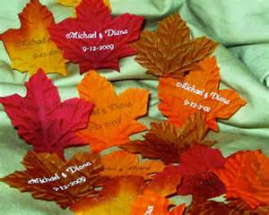 fall wedding favors fall wedding decorations cheap decoration
