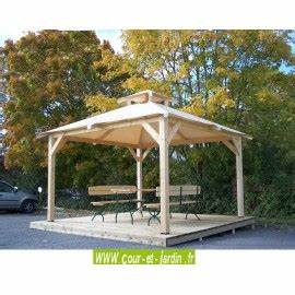 Tonnelle Alu 3x3 : tonnelle bois ou aluminium achat de tonnelles et charpente en kit ~ Teatrodelosmanantiales.com Idées de Décoration