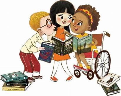 Diverse Books Diversity Children Classroom Clipart Characters