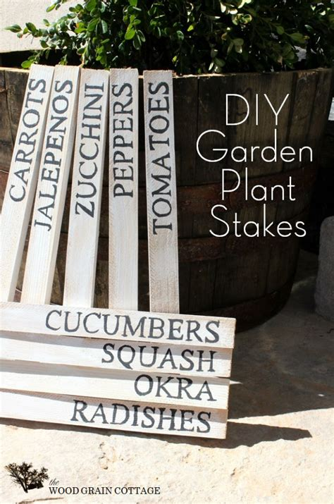 25 best ideas about garden markers on