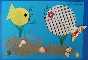 Basteln Sommer Kinder : bunte fische basteln basteln mit kindern basteln mit kindern pinterest fische basteln ~ Markanthonyermac.com Haus und Dekorationen