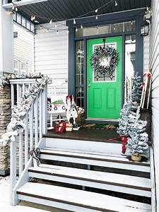 A, Tree, Lot, Inspired, Christmas, Front, Porch