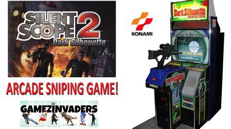 Konamis Silent Scope 2 Dark Silhouette Arcade Sniper