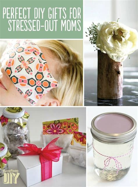 perfect diy gifts  stressed  moms diys gift
