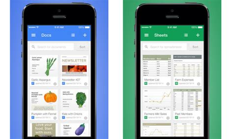 Google unveils standalone iOS apps for editing Google Docs ...