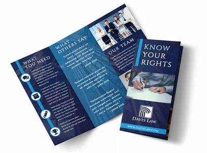 Brochure Law Firm Lawyer Template Templates Fold