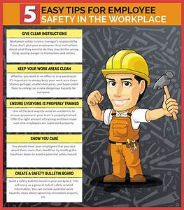 5 Easy Tips For Employee Safety In The Workplace