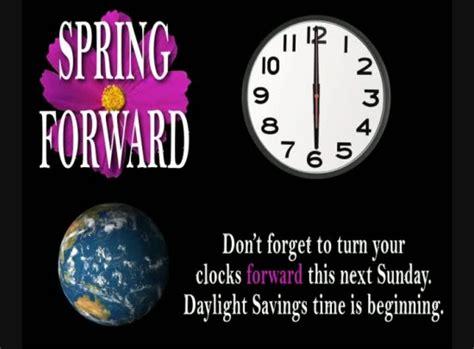 daylight savings reminder loop spring  vertical