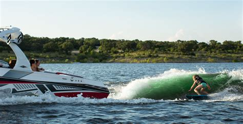 Tige Boats Surf System by Just Press Surf A New Era In Wakesurfing Boat Technology