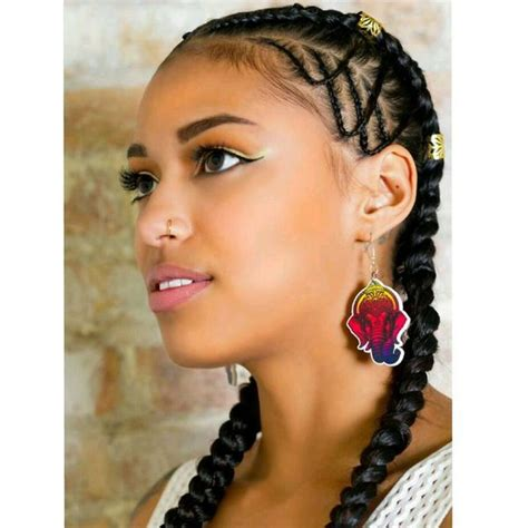 two braids hairstyles ideas trending in october 2019