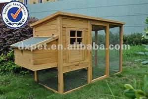 Deluxe Gros Poulet Maison En Bois Coop Lapin Animal Furet