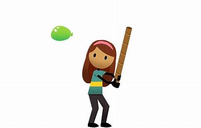 Clipart Activity Motor Gross Balloon Batting Activities