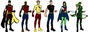 Young Justice (season 1) - the Team by CaptainDutch on ...