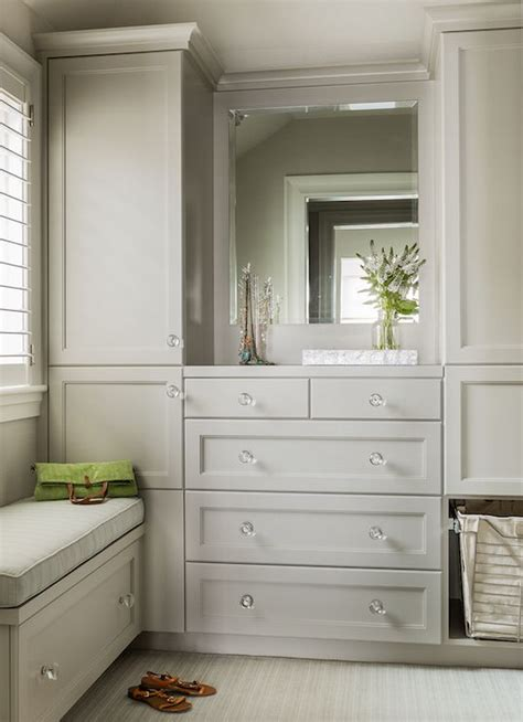 Bedroom Cabinets Grey by Gray Closet Cabinets By Clark Design Walk In