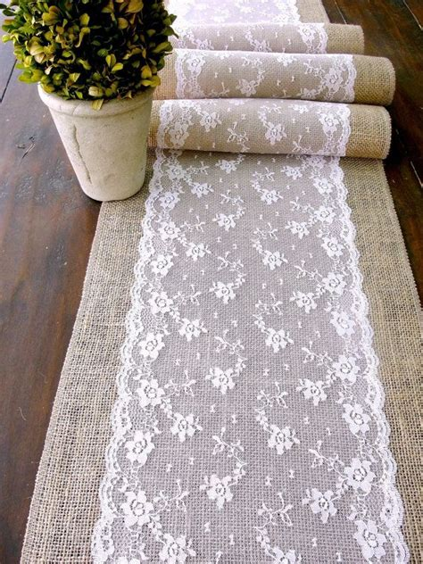 wedding table cloth runners wedding table runner pink lace rustic chic wedding