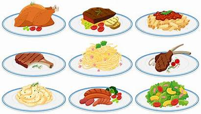 Types Different Vector Clipart Plates Resources