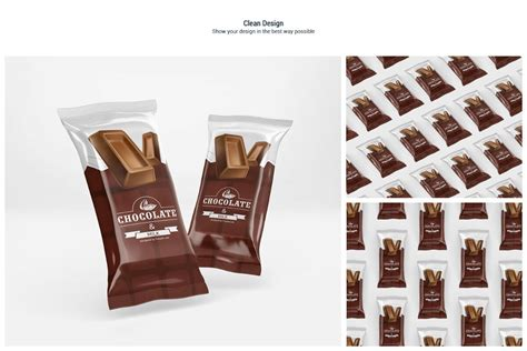 Via smart objects, you can easily customize and change any mockup element. Chocolate Bar Mockup By Pixelica21 | TheHungryJPEG.com