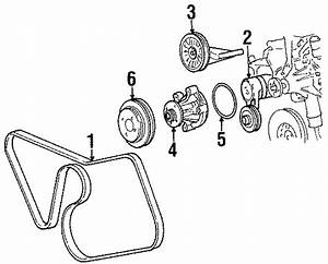 Ford Mustang Tensioner  Belt  Accessory  Drive  Serpentine