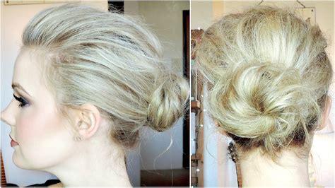 HOLLYWOOD INSPIRED VOLUMIZED BUN TUTORIAL For Fine Hair