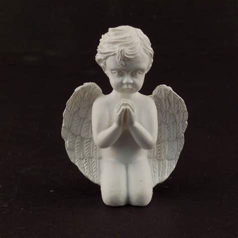 ceramic praying angel cherub figurine statue church