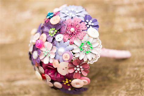 Pink Button Bouquet Pumpkin And Pye