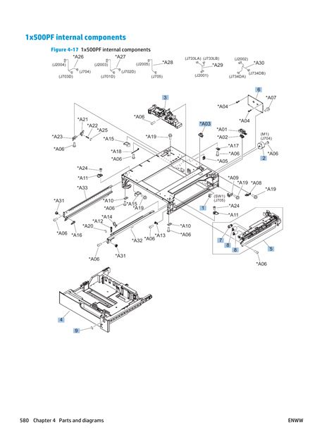 Click the operating system version, and then click the. HP LaserJet Enterprise-Color M750 M750n M750dn Parts and ...