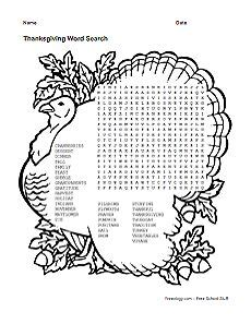 word search puzzles images english language