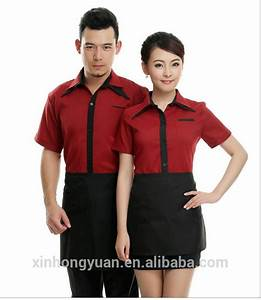 restaurant waiter uniform/restaurant uniform designs, View ...