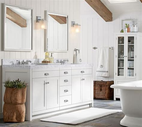 Pottery Barn Bathroom by Pb Classic Glass Bath Accessories Pottery Barn