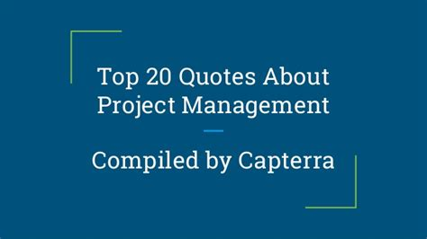 top  quotes  project management