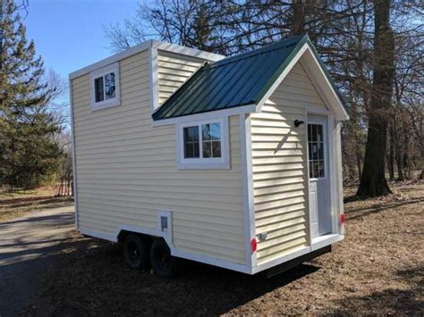 18' Tiny House Brand New And Ready To Go  Tiny House For