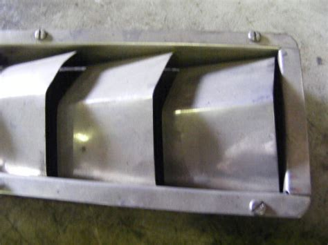 marine boat vent blower intake outboard bilge exhaust air ventilation 4 3 4 x 13 ebay