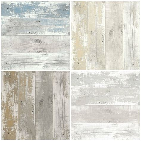 Tapete Shabby Look by Shabby Chic Design Studio Driftwood Wood Wallpaper