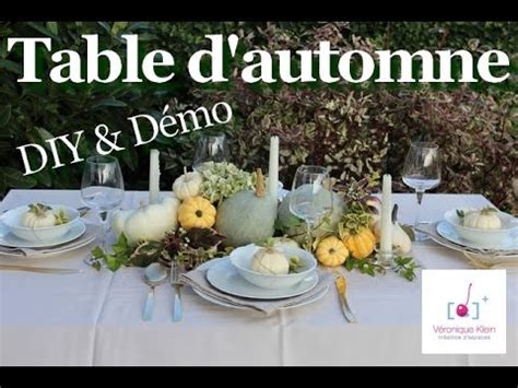 deco table automne d 233 co table d automne tendre nature