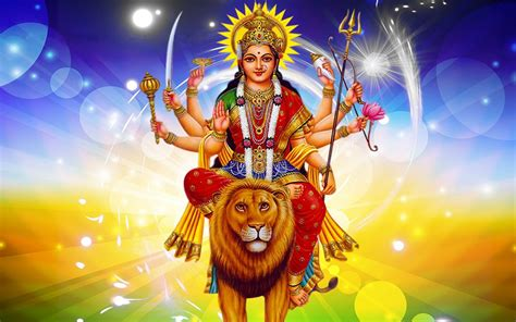Happy Navratri Maa Durga Images For Hd Wallpaper 1920x1200